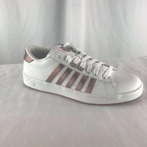 K Swiss Hokey Memory Foam Sneakers Pink White SZ 6